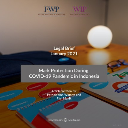 MARK PROTECTION DURING COVID-19 PANDEMIC IN INDONESIA